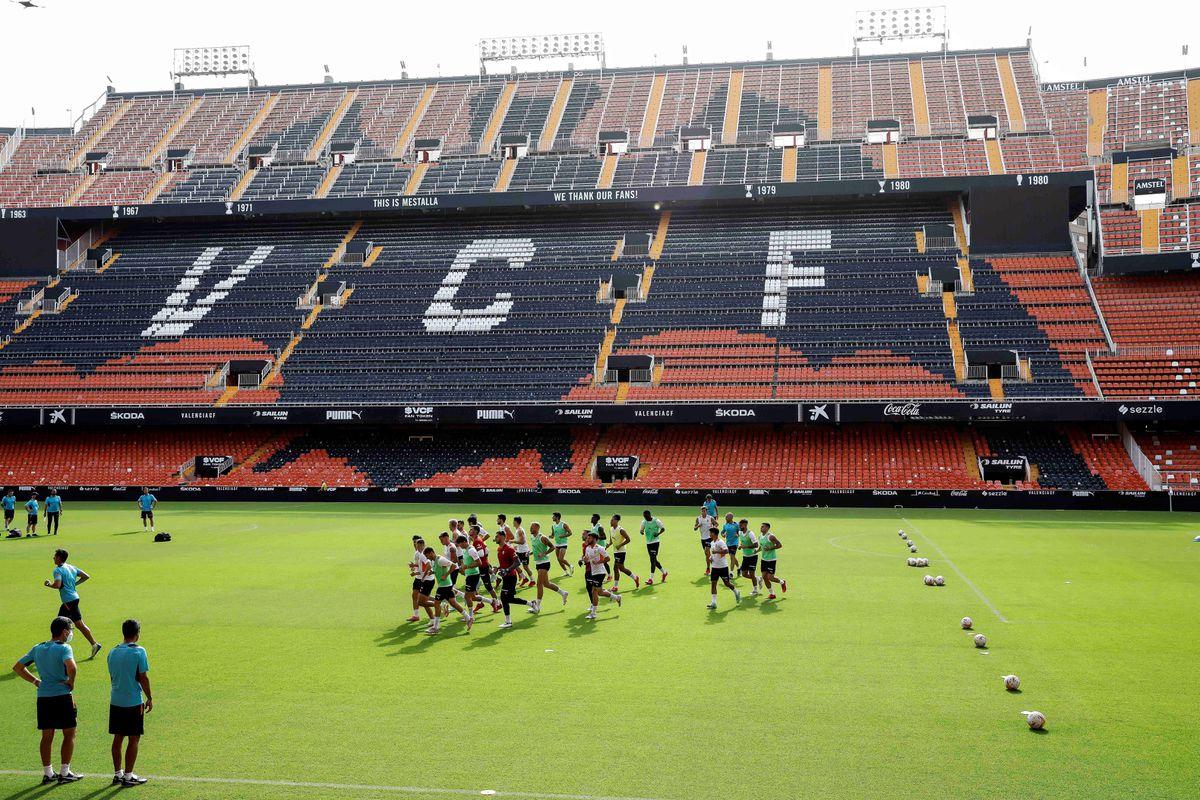 Valencia - Getafe: hasta 15.000 espectadores en la grada de Mestalla  deporte