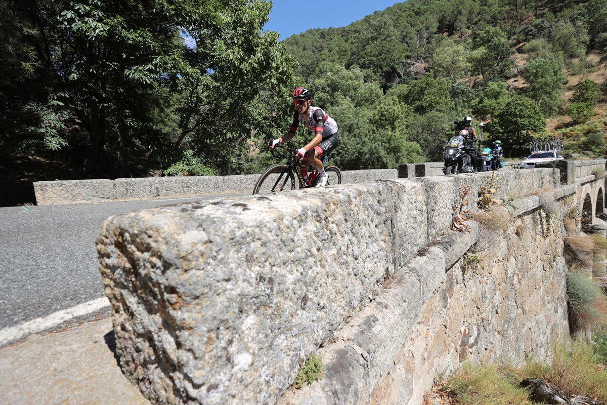 Vuelta a España: Rafal Majka rinde homenaje a la soledad con una larga escapada triunfal a Gredos |  deporte