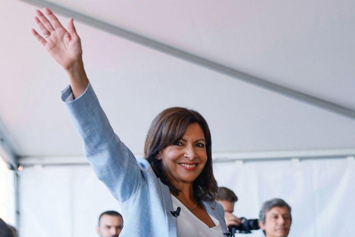 Ann Hidalgo anuncia candidatura para la región del Elíseo con mensaje ecológico, feminista y social |  Internacional