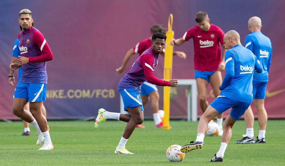Ansu Fati vuelve de guardia al Barça 10 meses después  deporte