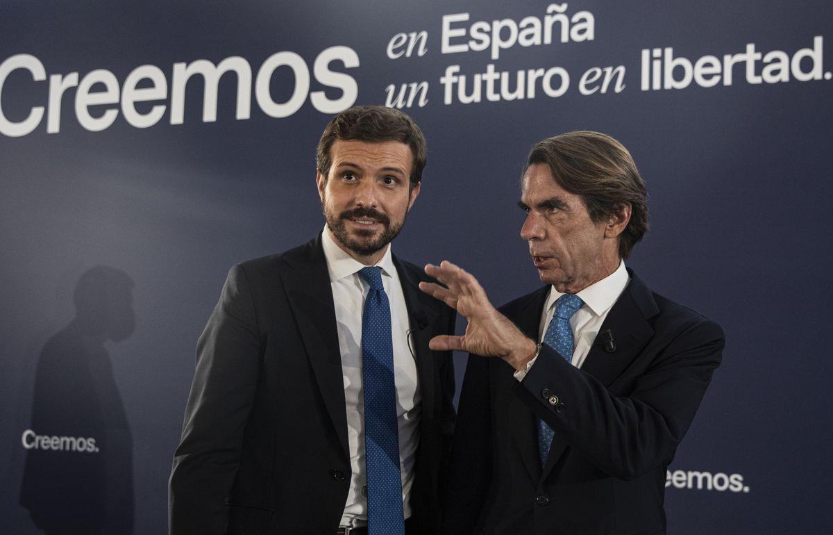 """Aznar pide a Casado que derogue la ley de memoria democrática si llega al poder porque """"activa los mecanismos del odio""""    España"""