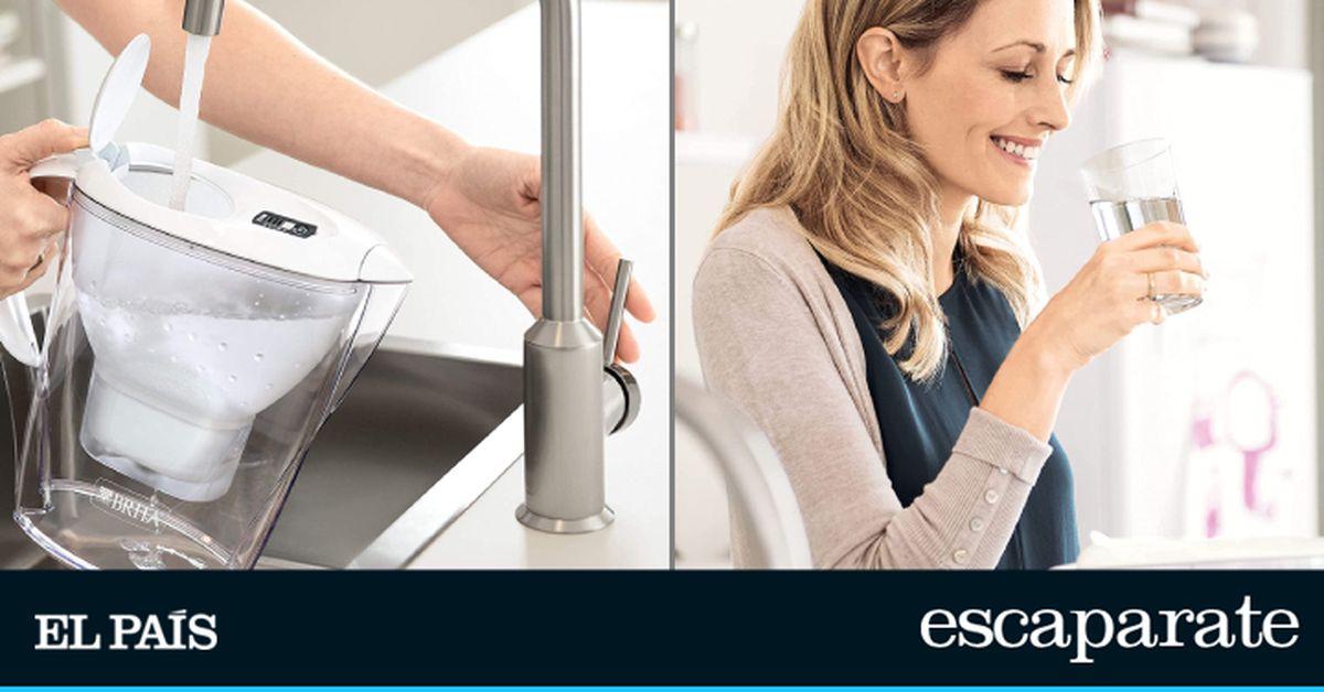Brita: Más de 30.000 reseñas y apta para el frigorífico: esta es la jarra de agua con filtro perfecta para uso doméstico |  Escaparate