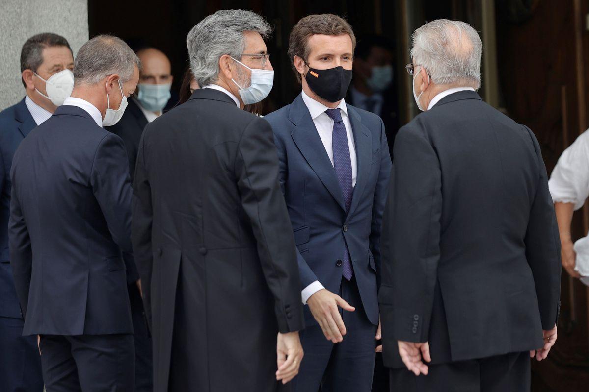CGPJ: Lesmes insiste en la renovación del poder judicial para evitar violaciones a la ley  España