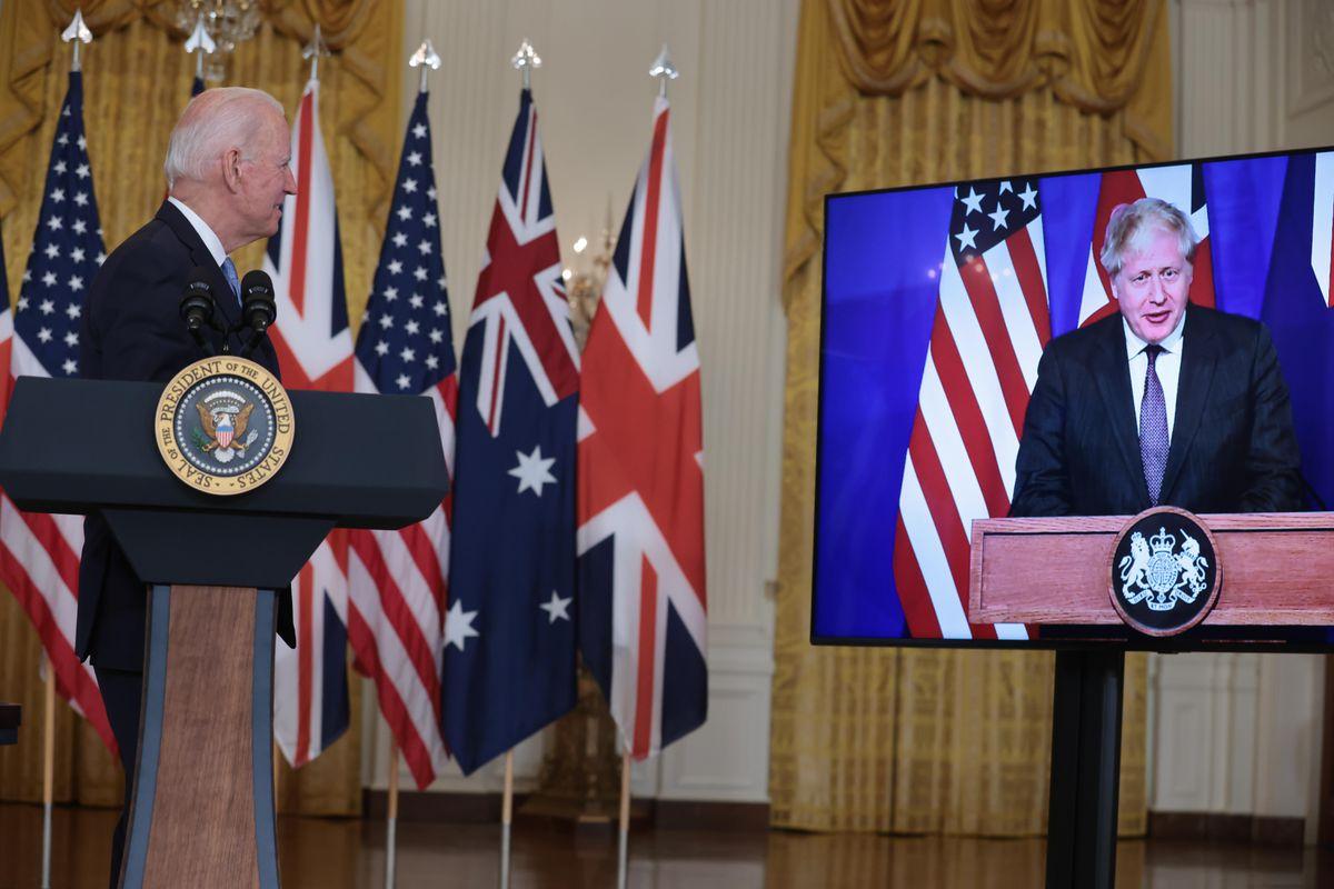 China: EE.UU., Reino Unido y Australia declaran alianza estratégica contra China en el Indo-Pacífico |  Internacional