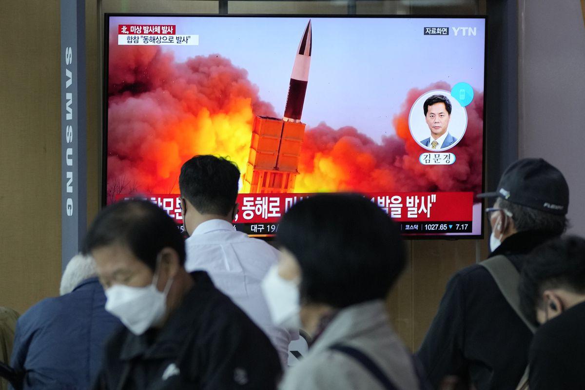 Corea del Norte lanza un nuevo misil en el Mar de Japón  Internacional
