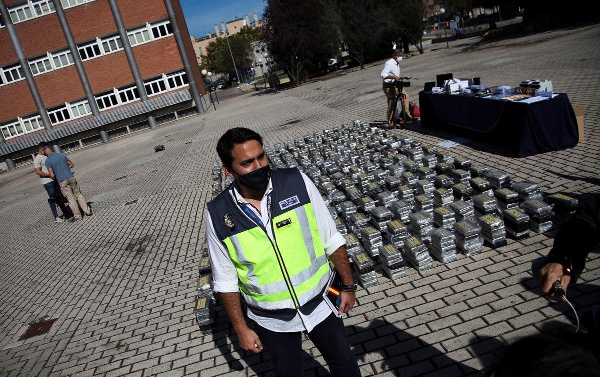 Desmantelada peligrosa red de tráfico de cocaína vinculada al cartel de los Balcanes  España