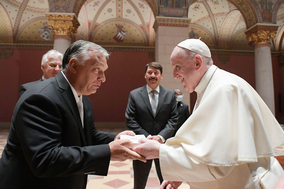 El Papa quiere el cristianismo abierto de Orban  Internacional