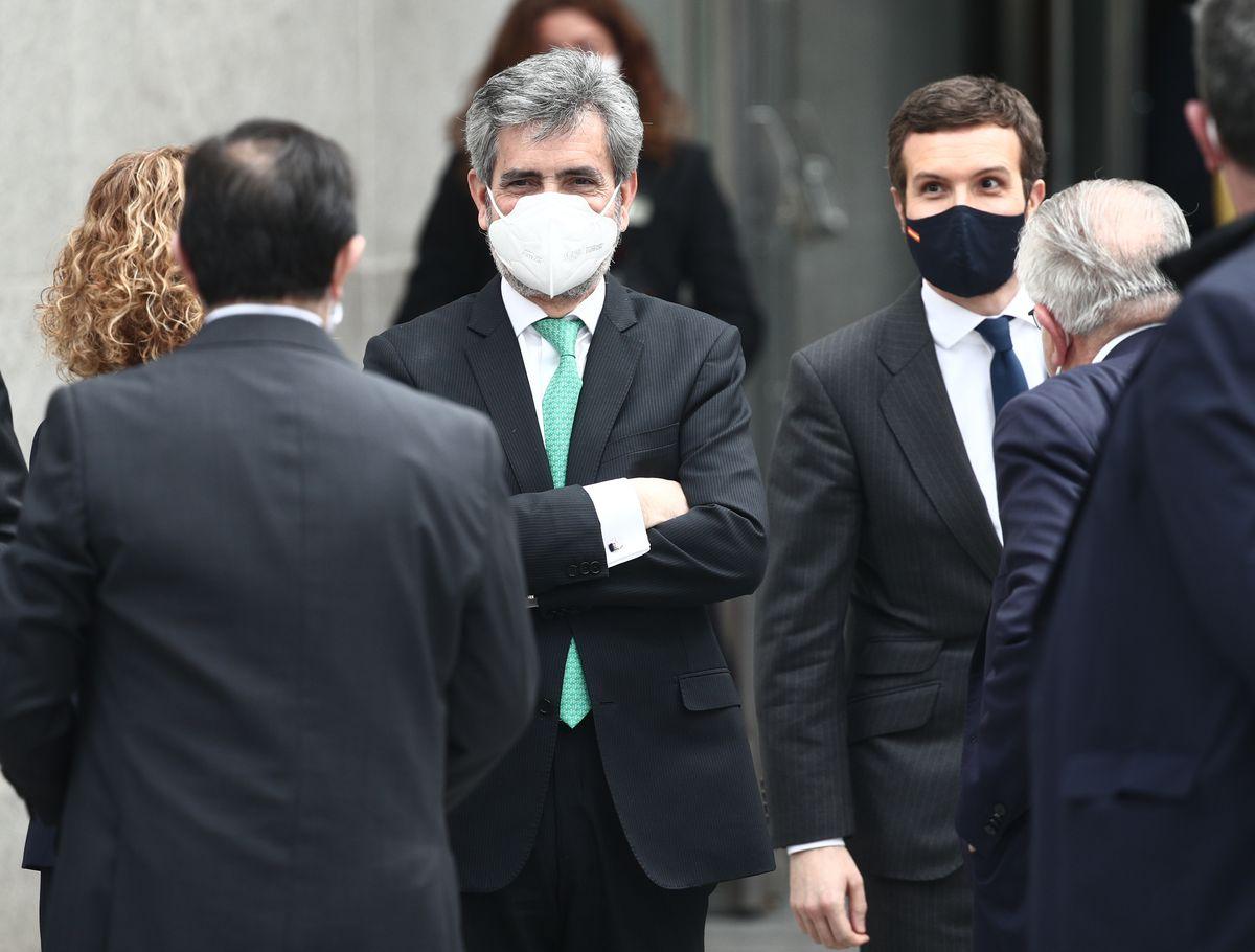 El Poder Judicial de centroderecha se moviliza a favor de Casado para restaurar el Poder Judicial |  España