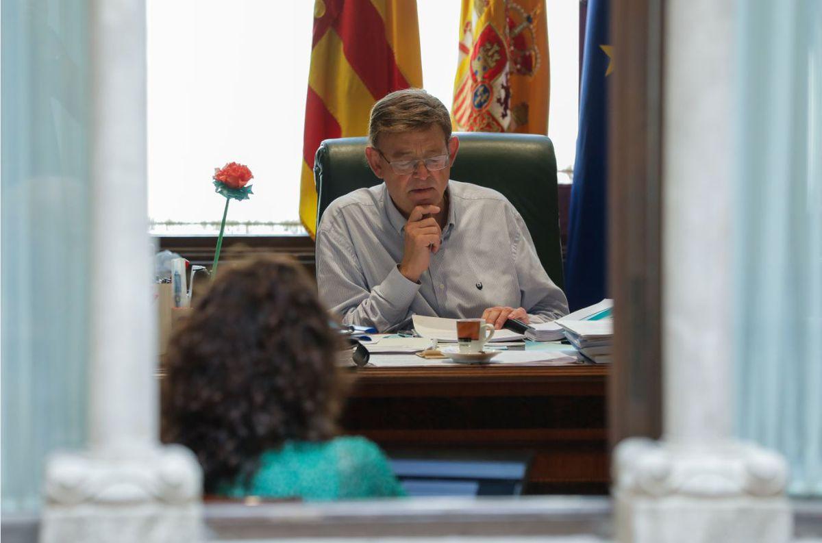 El debate político general examina la convergencia del Gobierno valenciano en plena legislatura  Valencia