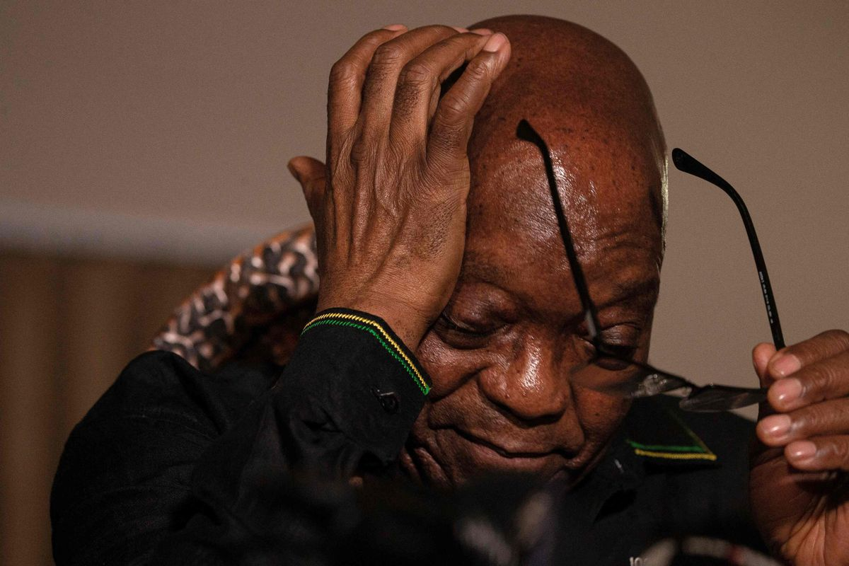 El ex presidente sudafricano Jacob Zuma cumplirá su condena en casa por motivos de salud    Internacional