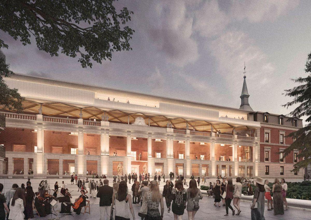 El gobierno desbloquea fondos para la ampliación del Museo del Prado  Cultura