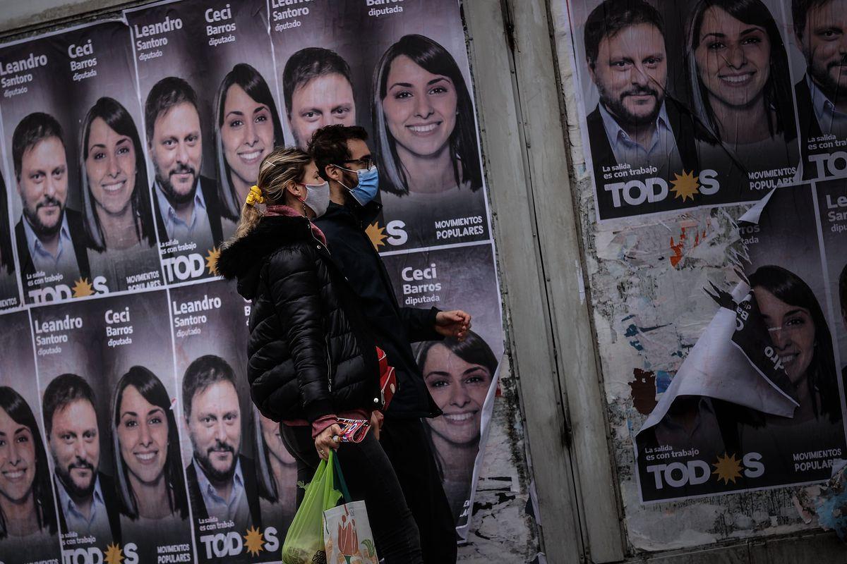 El kirchnerismo plebiscita su gobierno en elecciones primarias en Argentina  Internacional