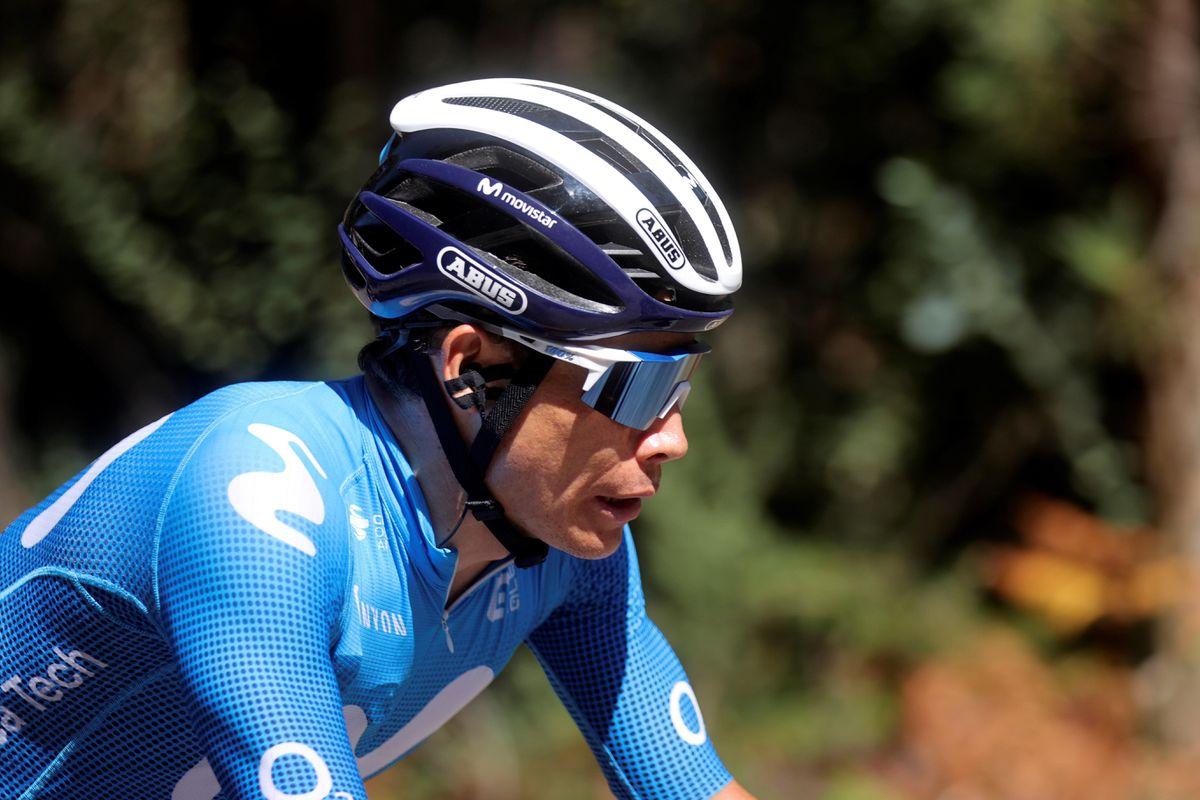 El nunca antes visto Superman López en la penúltima etapa de la Vuelta  deporte