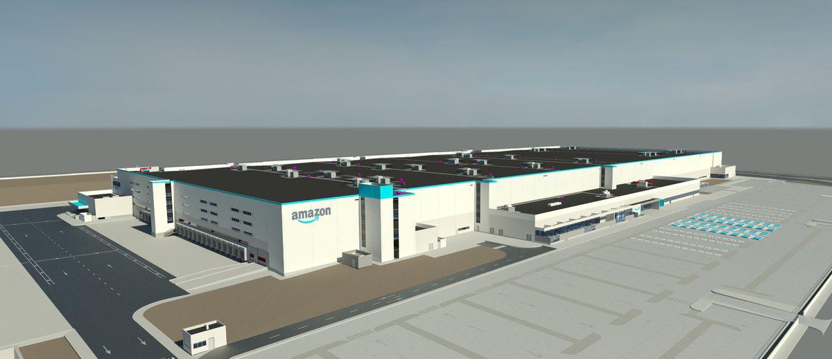 El primer centro logístico de la Comunidad Valenciana de Amazon abrirá en Onda en 2022  Valencia