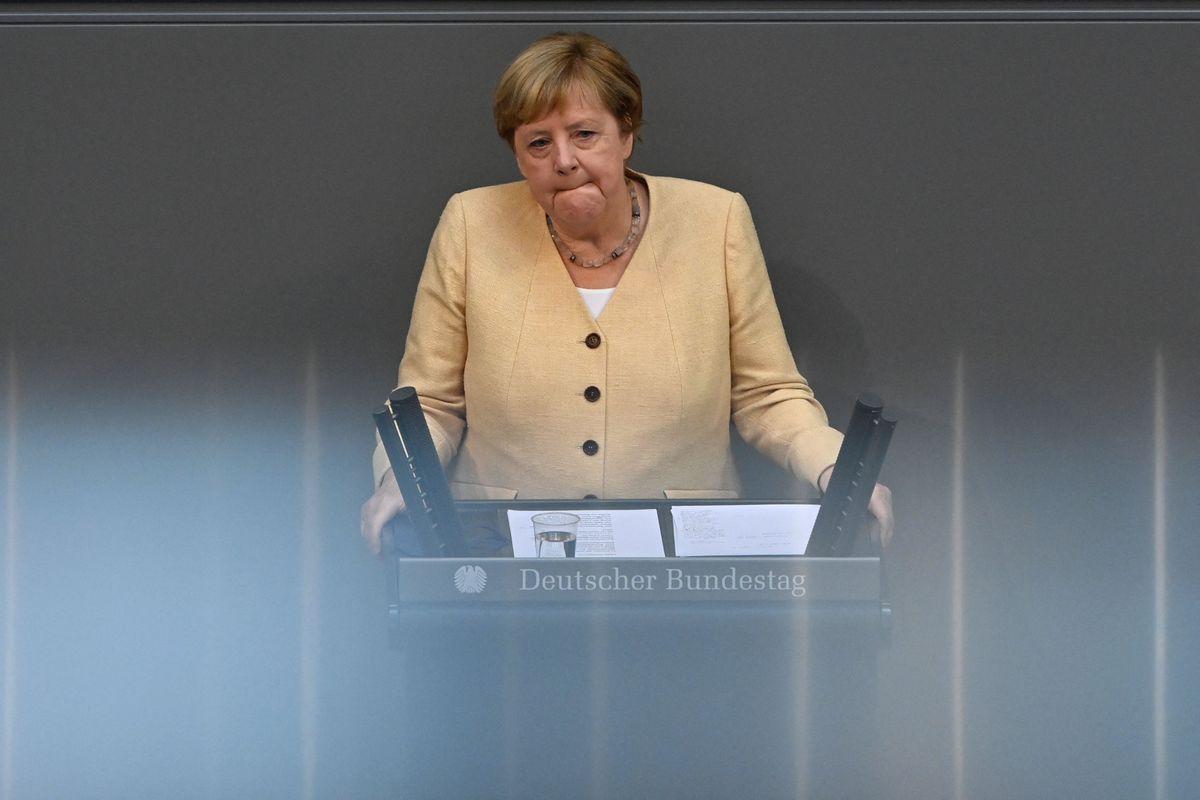 Elecciones alemanas: Merkel hace campaña contra la alianza de izquierda mientras su partido sangra en las encuestas |  Internacional