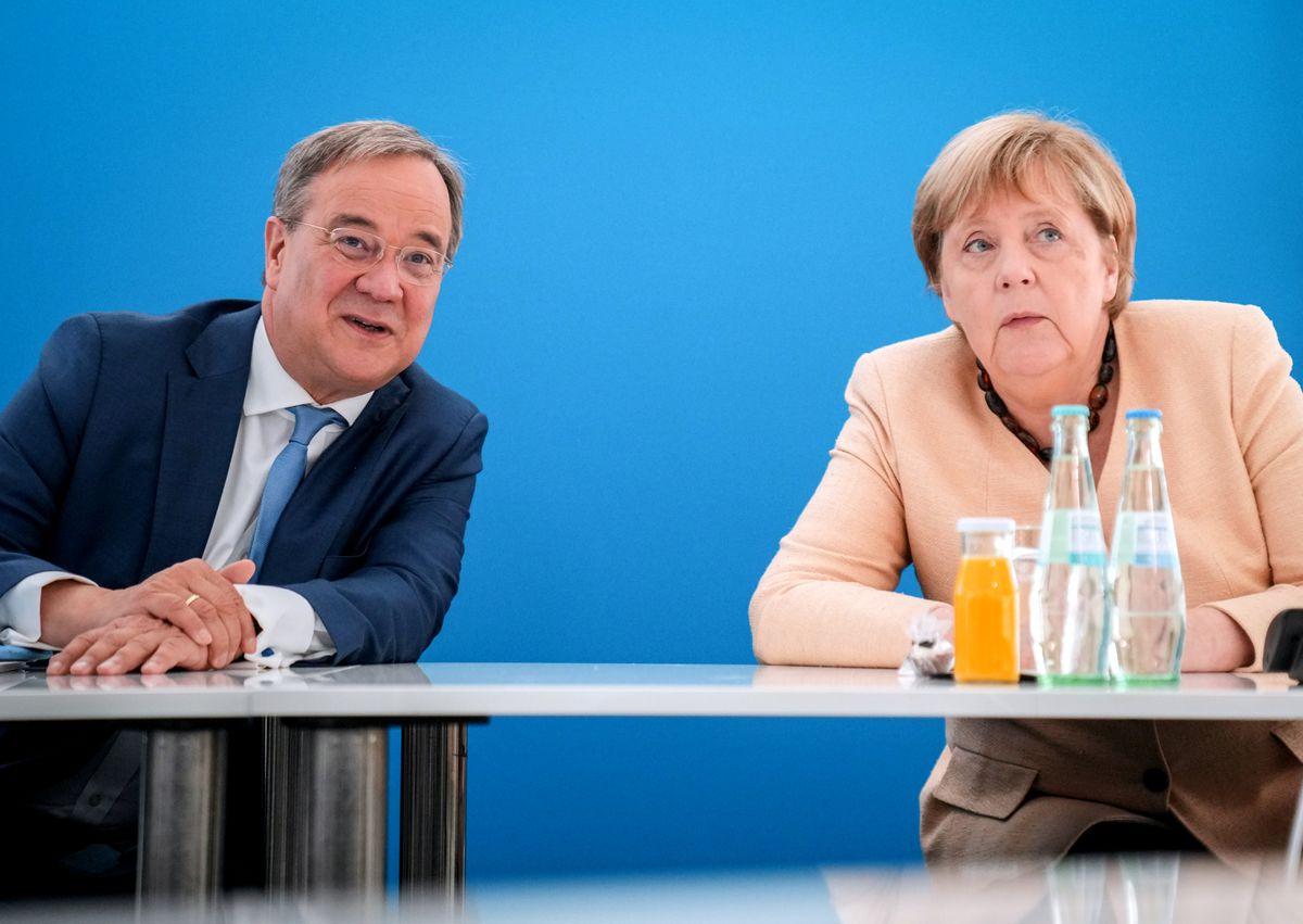 Elecciones en Alemania: Merkel gana popularidad;  su sucesor, Armin Lashet, se hunde en la indiferencia  Internacional