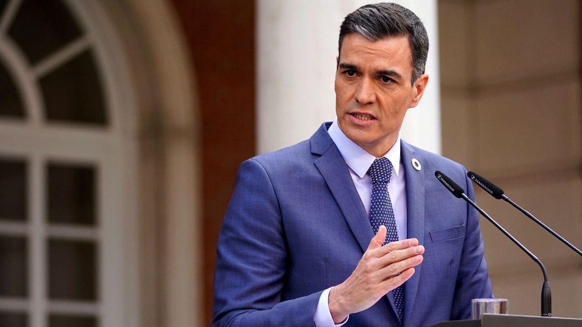 Entrevista a Pedro Sánchez en TVE, en directo  Pedro Sánchez anuncia nuevos recortes de impuestos y otras medidas para reducir las facturas de luz y gas    España