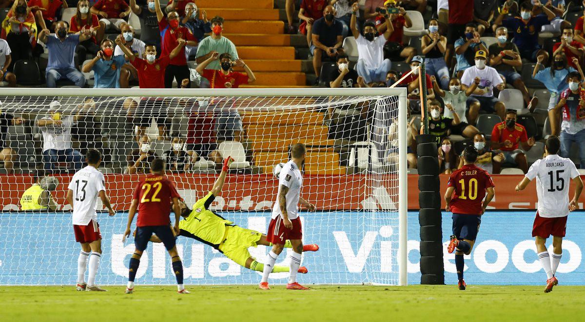 España consigue la victoria necesaria  deporte