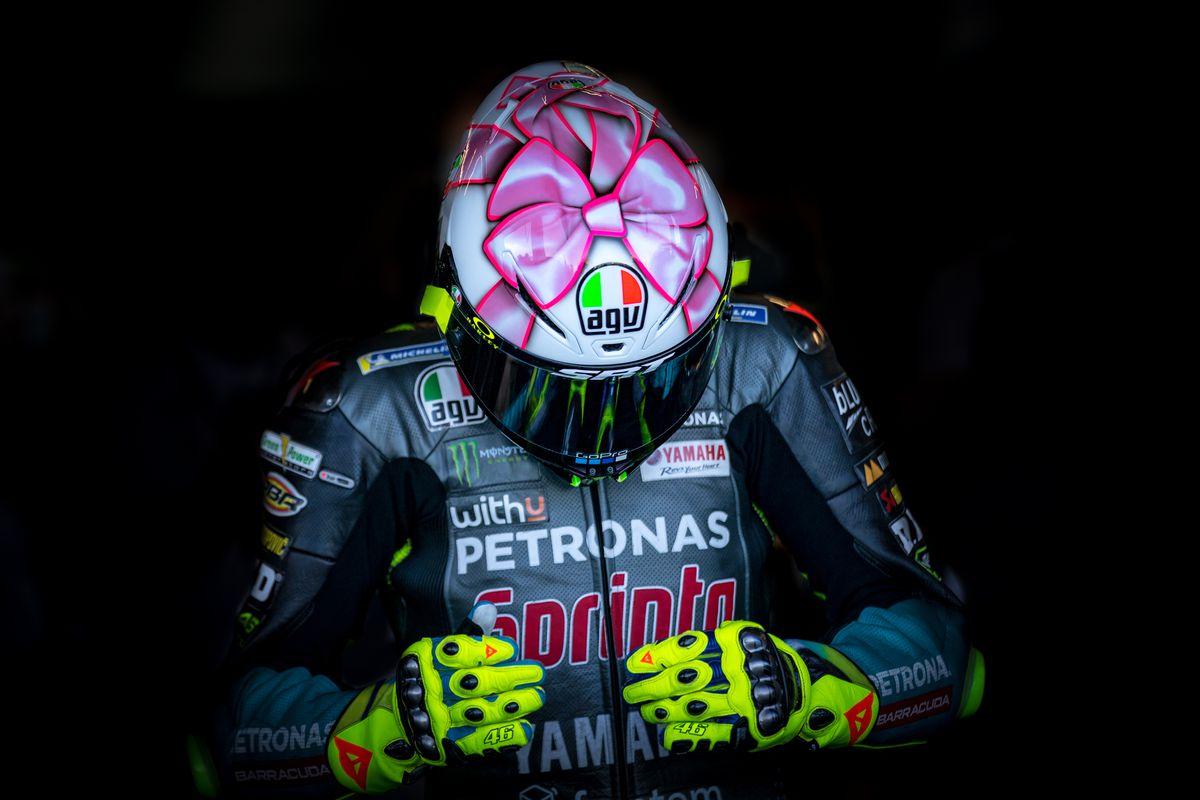 GP de San Marino: la mochila pesada de Valentino Rossi  deporte
