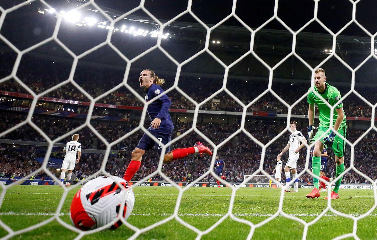 Griezmann libera Francia  deporte