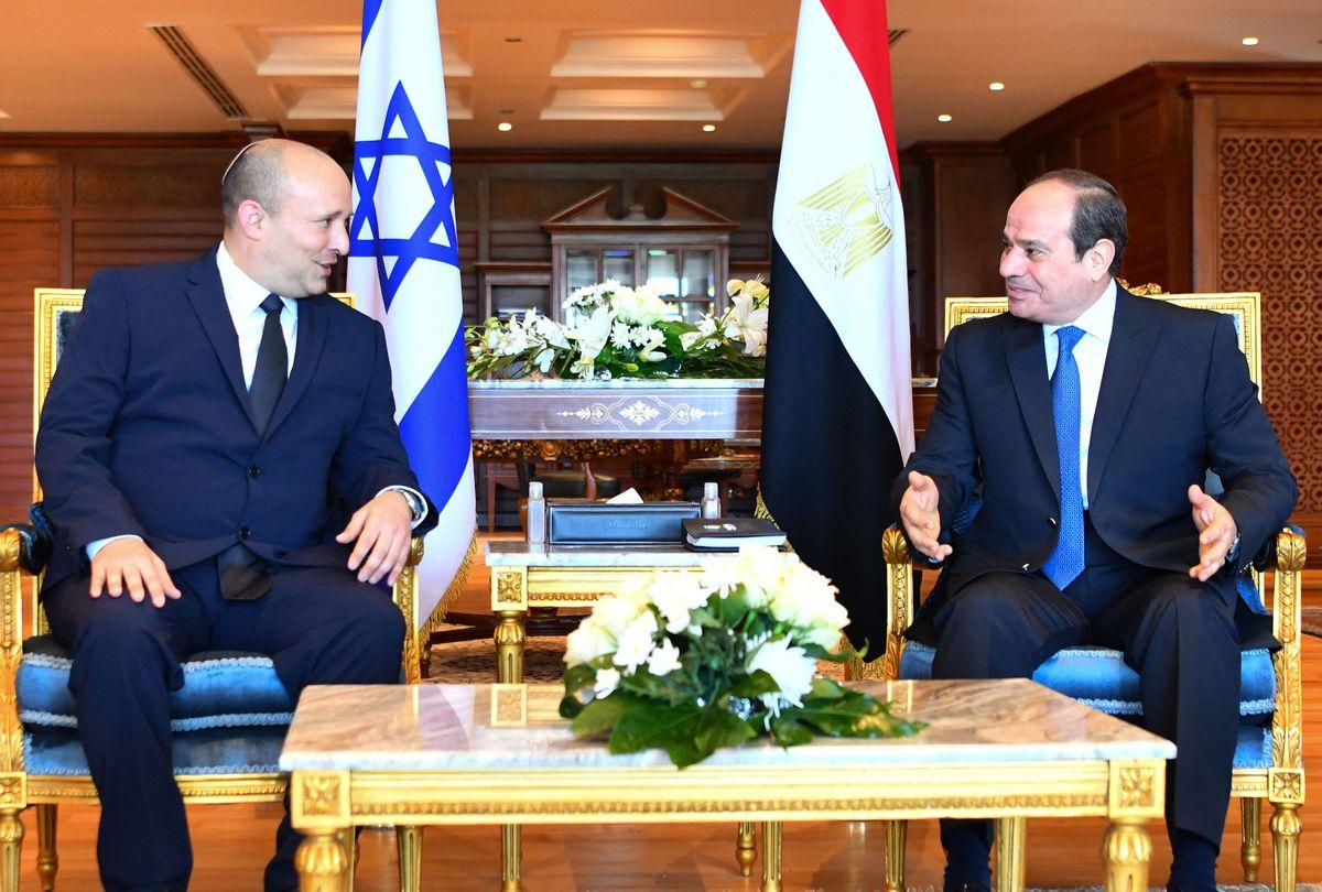 Israel: Bennett se reúne con Al Sisi en la primera visita oficial a Egipto de un jefe de gobierno israelí en una década |  Internacional