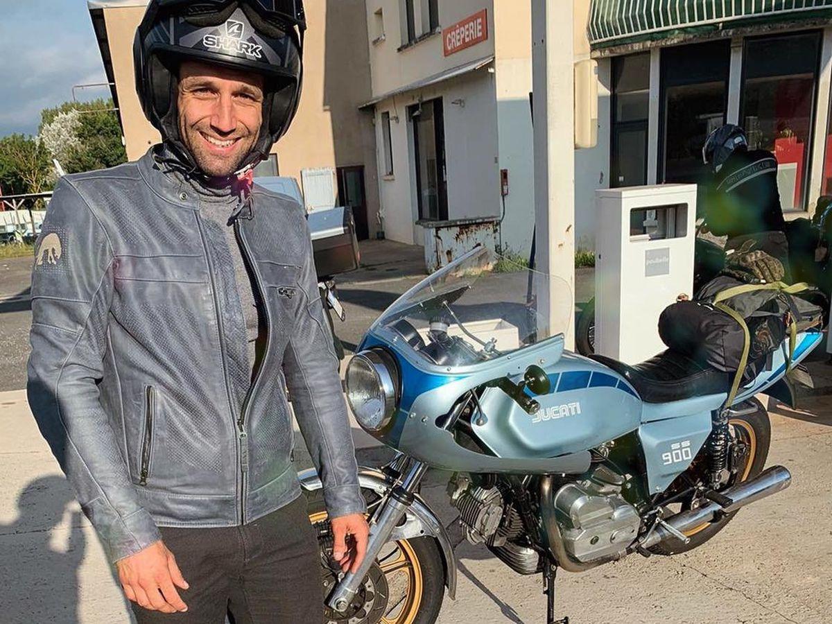 Johan Zarco recorre 900 kilómetros en moto desde Niza hasta Alcanis para correr en el GP de Aragón |  deporte