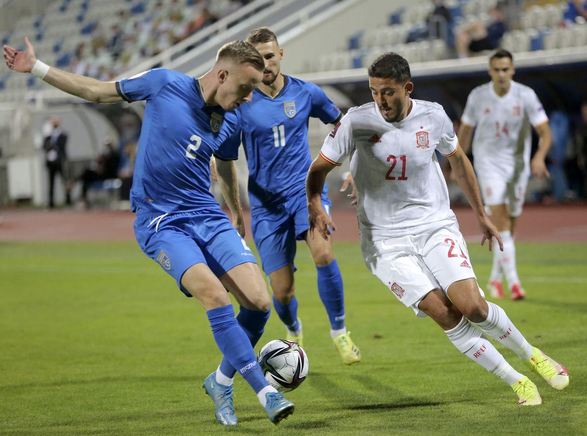 Kosovo - España en directo, clasificatorio para el Mundial 2022 en directo  deporte