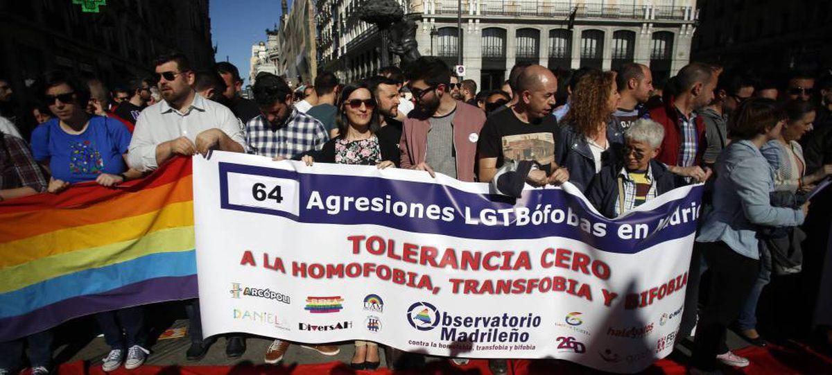 La Policía Nacional investiga un presunto ataque con cuchillo homofóbico en el centro de Madrid  Madrid