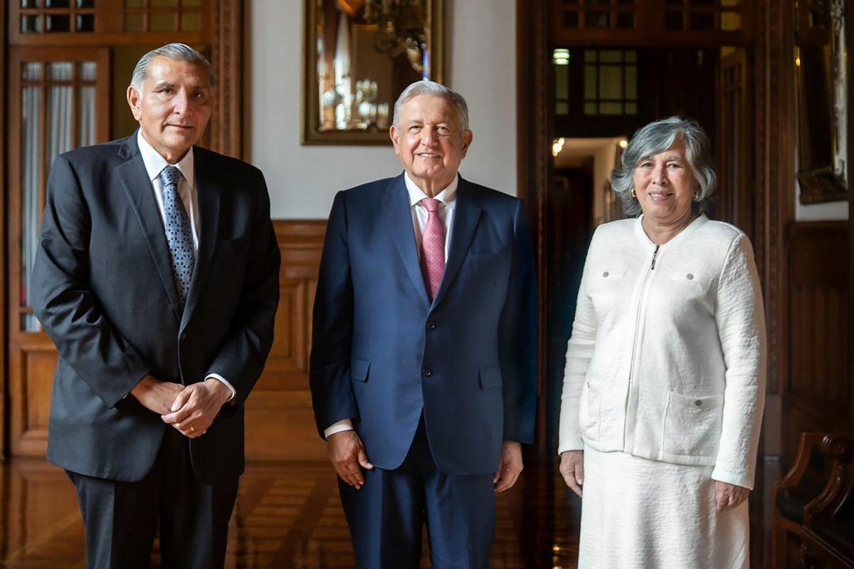 López Obrador nombra a María Estella Ríos González como nueva asesora legal de la presidencia