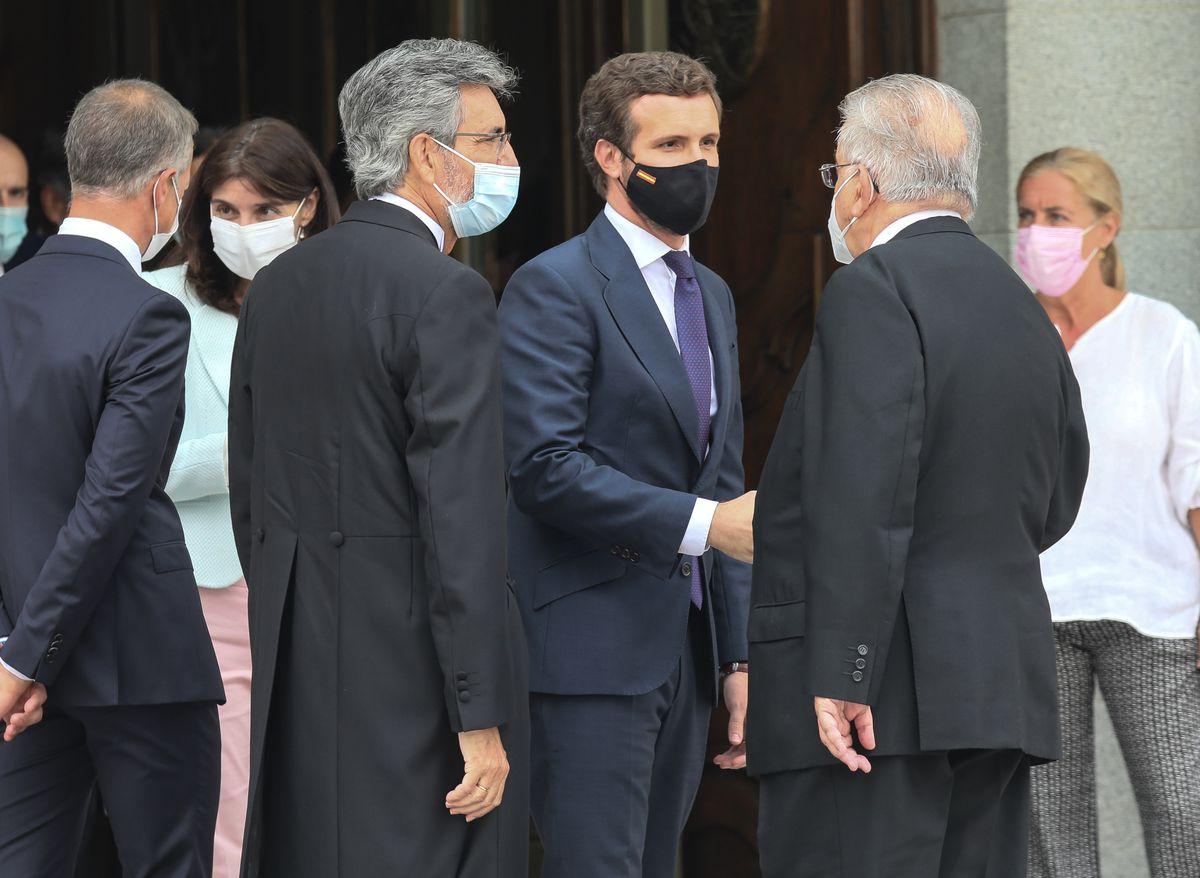 Los jueces piden a las partes que no los utilicen en el debate sobre el poder judicial  España