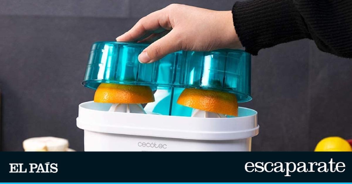 Los mejores exprimidores de naranja con cortador incorporado  Escaparate