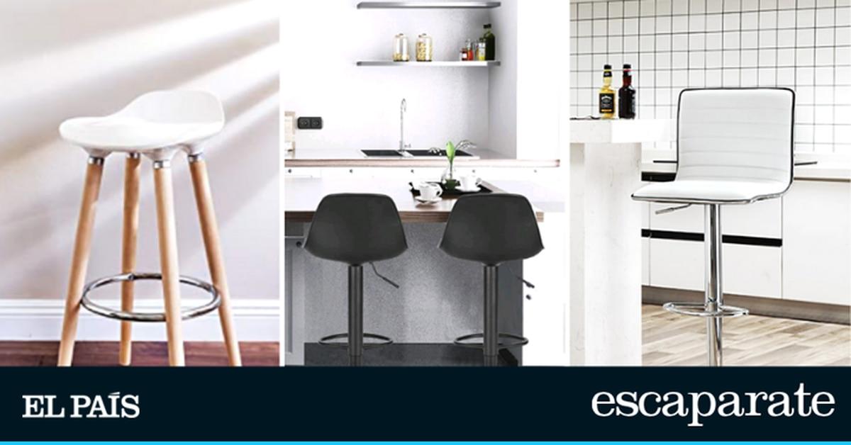 Los mejores taburetes altos para la cocina: prácticos, cómodos y bonitos  Escaparate