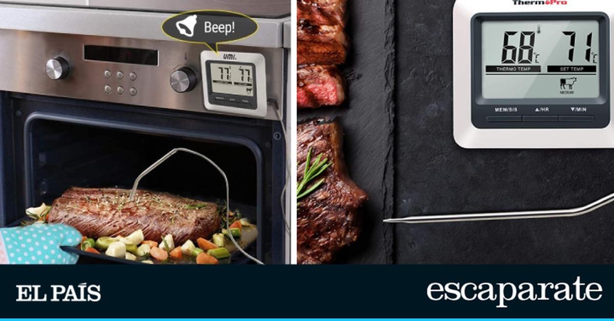 Los mejores termómetros de cocina para el horno.  Escaparate