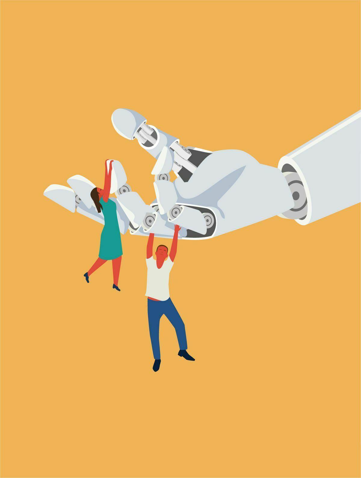 Máquinas: robots y trabajos en países en desarrollo  Negocio