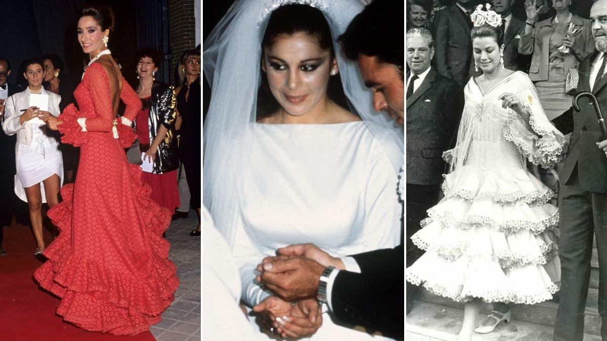 Marcelina Fernandez: Lina, la gran fashionista andaluza, viste de flamenco a Grace Kelly e Isabel Pantoja de novia    Gente