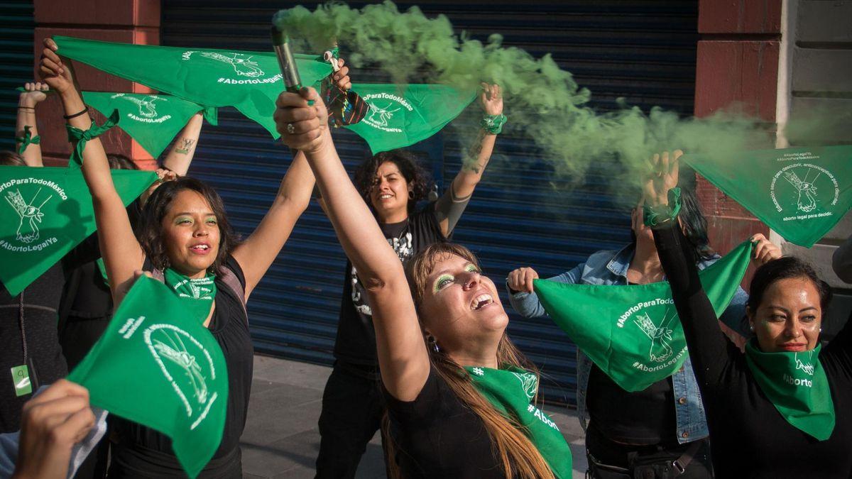 México despenaliza el aborto tras histórico fallo judicial