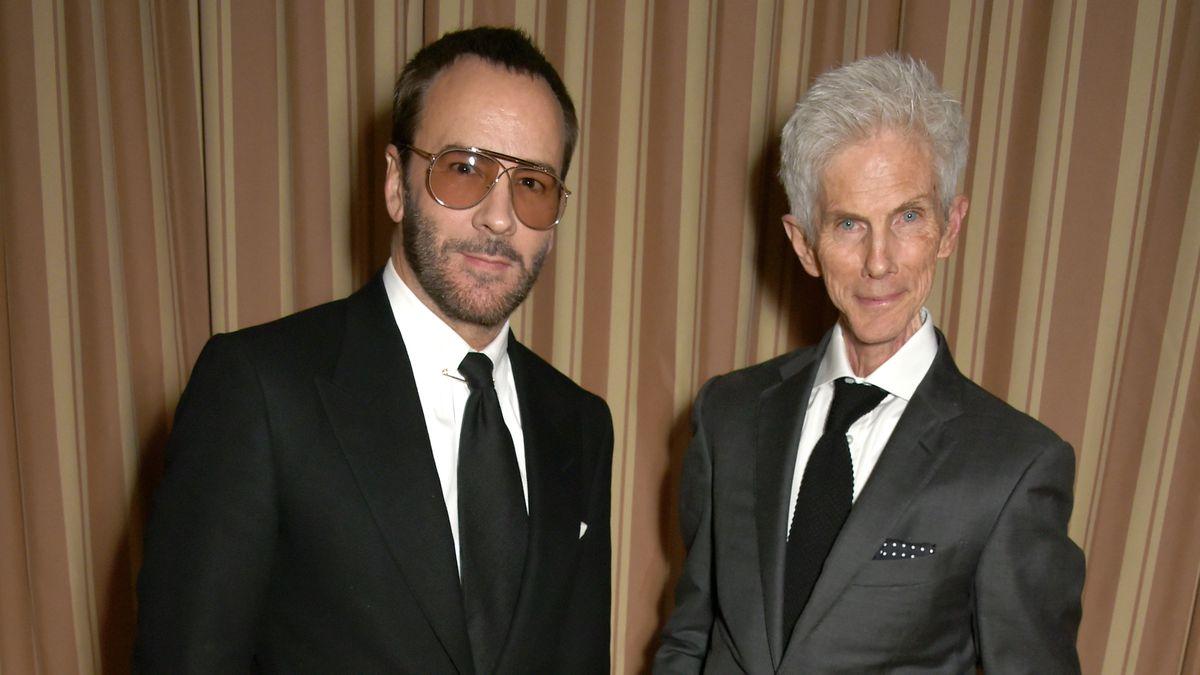 Muere Richard Buckley, periodista de moda y esposo del diseñador Tom Ford  Gente