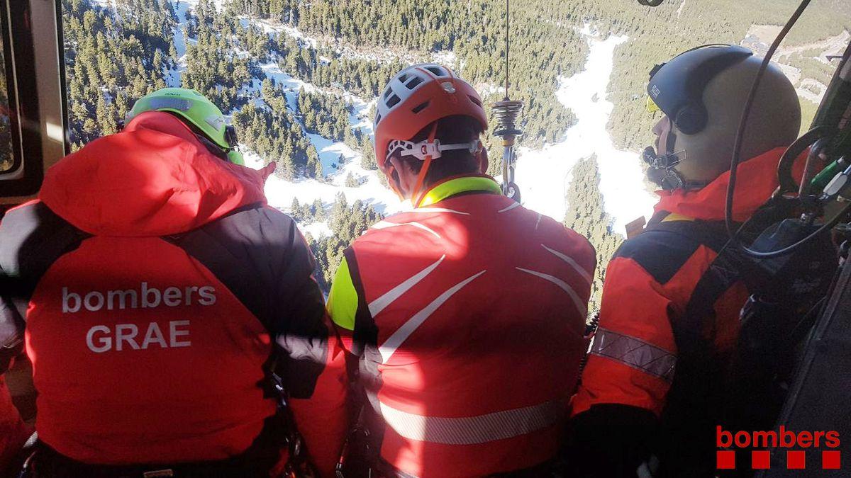 Muere turista tras caer treinta metros en el vacío de la montaña más alta de Cataluña |  Cataluña