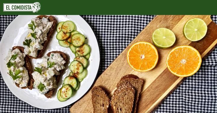 Nueve bocadillos salados rápidos y saludables