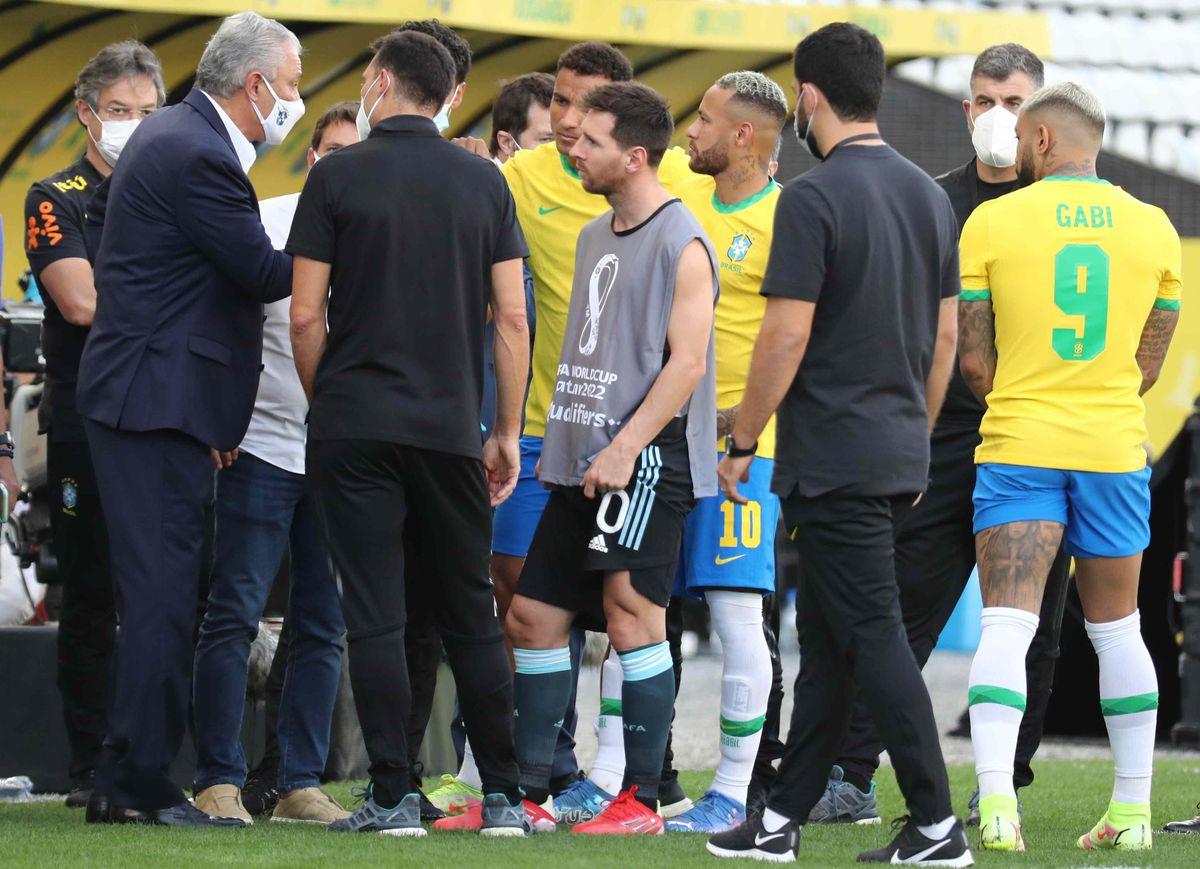 Partido Brasil - Argentina: Una historia de vergüenza planetaria  deporte