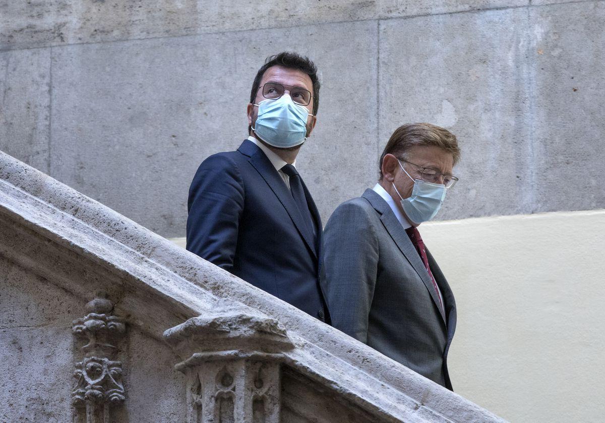 Pere Aragonès y Ximo Puig normalizan las relaciones institucionales pero no avanzan en la financiación autonómica |  España