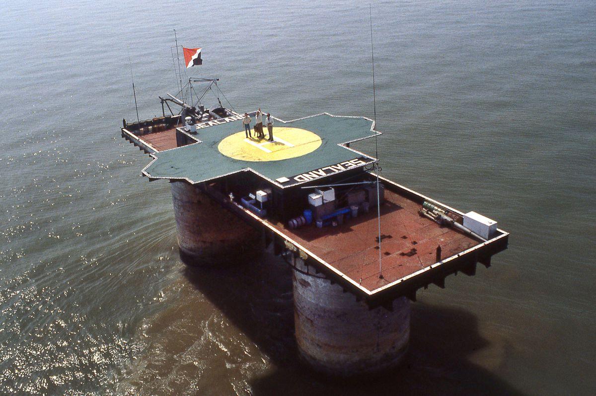 Principado de Sealand: Cómo una plataforma de 500 metros cuadrados en medio del mar se convirtió en el país más pequeño del mundo |  Arquitectura  Diseño ICON