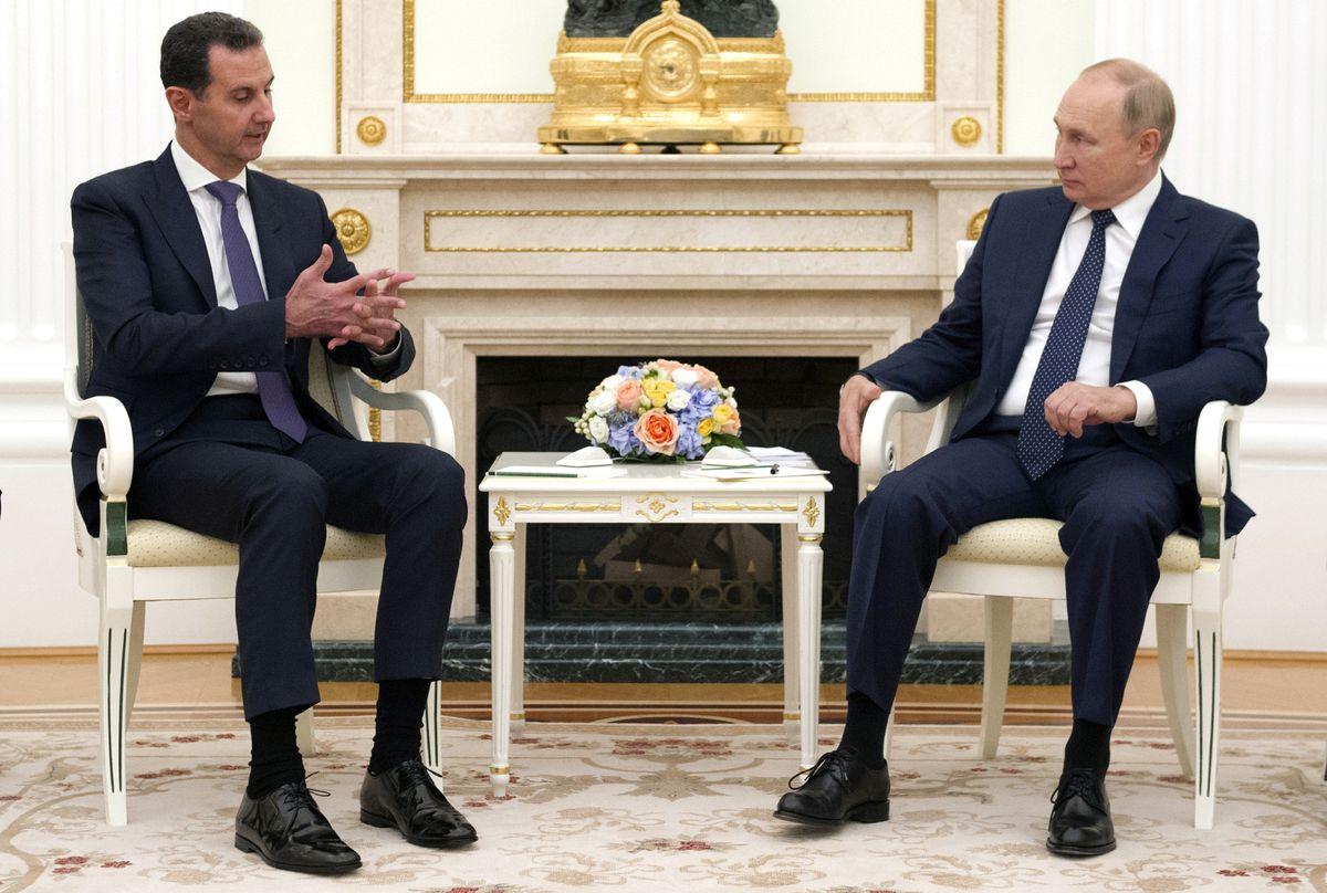 Putin recibe a Assad y acusaciones contra las fuerzas estadounidenses y turcas en Siria  Internacional