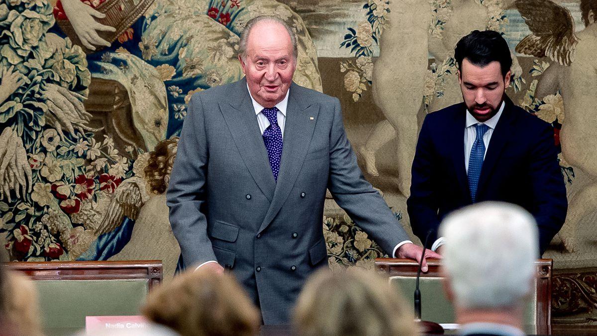 """Rey de Honor: Juan Carlos I: """"Algunos están muy contentos de que me haya ido""""  España"""