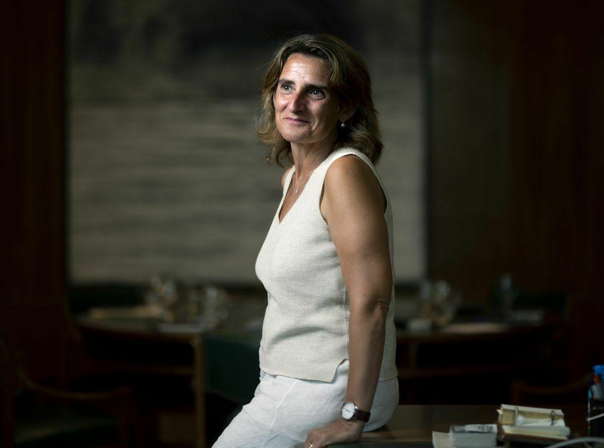 """Teresa Ribera: """"Evidentemente, algunas eléctricas tienen ganancias excesivas""""    Ciencias económicas"""