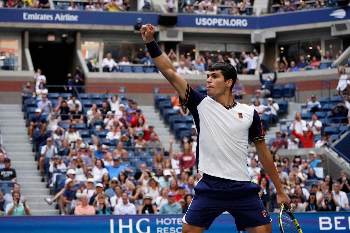 US Open 2021: Carlos Alcaraz, el torbellino de personas  deporte