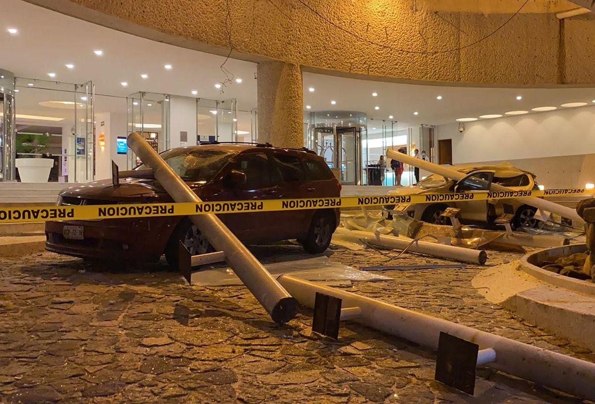Un terremoto de magnitud 7.1 sacudió el centro de México