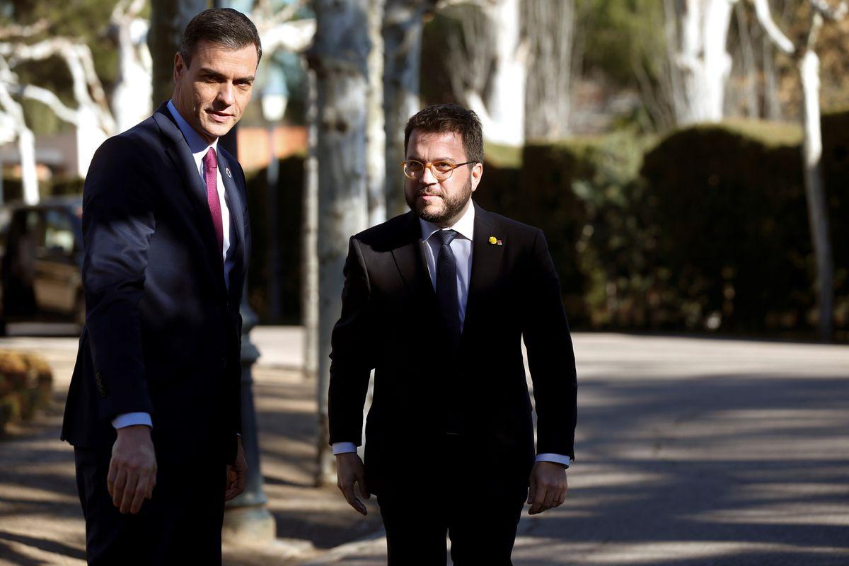 Vicepresidente Díaz y ministros Istata y Sánchez estarán en la mesa de diálogo  Cataluña