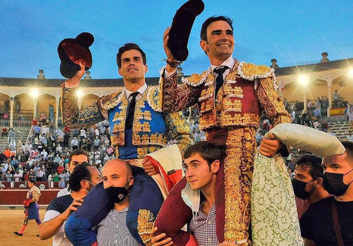 Victorino, Pinar y Serrano ... ¡Qué gran tarde de tauromaquia!  |  Cultura