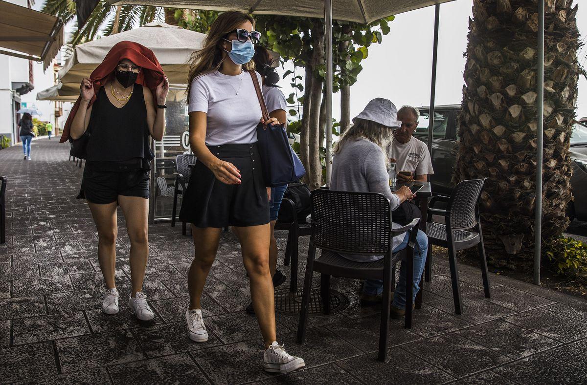 Volcán La Palma: Vives en una lluvia de cenizas  Comunidad